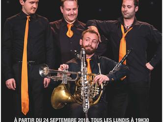"""Les Sourds-Doués dans leur nouveau spectacle d'humour musical """"Sur un malentendu"""" et m"""