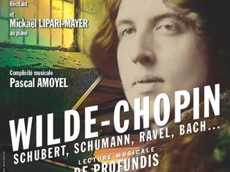 """""""Wilde-Chopin""""...""""De profundis"""" une lecture musicale à la beauté dramatique sans"""