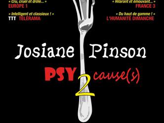 """""""Psy Causes 2  """" de Josiane Pinson mis en scène par Gil Galliot ... La psyché féminine dan"""