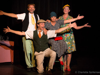 """Barber Shop Quartet "", un spectacle d'humour musical jubilatoire !"