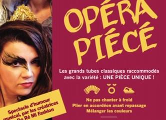 """""""Opérapiécé"""" d'Aurore Bouston et Marion Lépine avec Marion Buisset à l'accordéon.."""