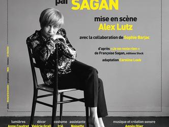 """""""Françoise par Sagan """" mis en scène par Alex Lutz et interprété par Caroline Loeb ...Quand"""
