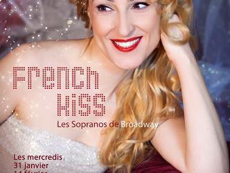 """""""French kiss"""" mis en scène par Stéphane Ly-Cuong et interprété par Fleur Mino...La voix du"""