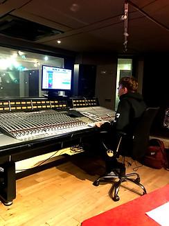 Recording Album Twists of L @Windmill Lane Recording Studios, Dublin Ireland