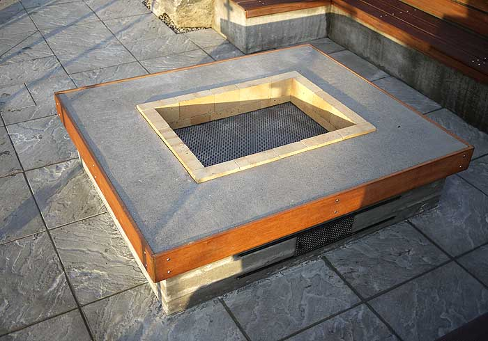 Firepits and bbq areas