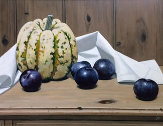 Squash with Plums