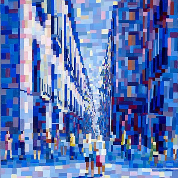 'Anonymous City' - Liz Chapman Art Show