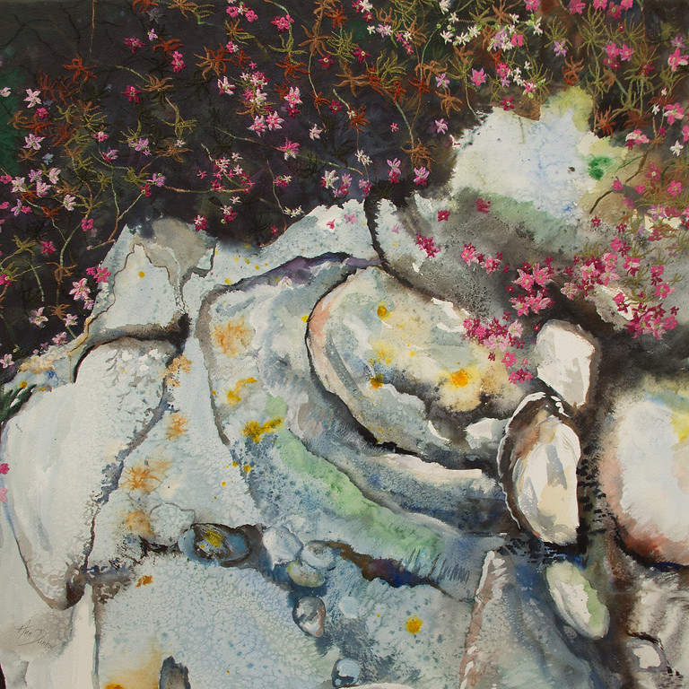 'Threading France and beyond' - Awarded Artist Ann Dunbar Solo Show