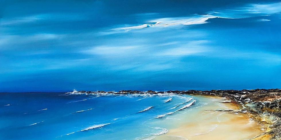 'Dreaming of the coast' - Coast of Italy & Seascape of Britain