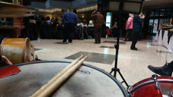 Playing at Pickering Town Hall.