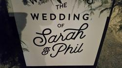 Phil and Sarahs wedding!