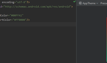 The Guide to Color Gradients in Android Studio