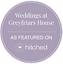 Greyfriars House as Featured on Hitched