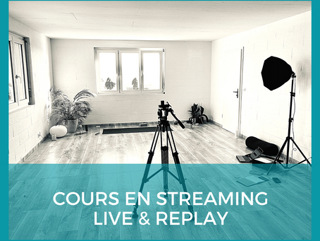 Cours en streaming Live & Replay: comment faire?