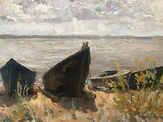 On a coast, landscape, Kreydun Ilya.jpeg