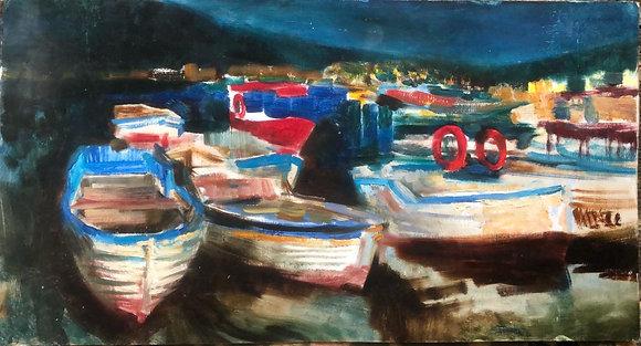 Boats,oil, carton