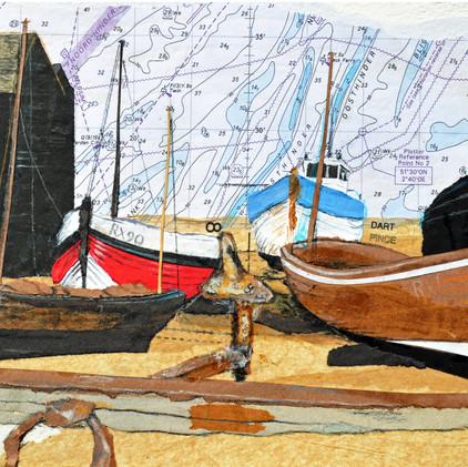 Fishing boats, Hastings