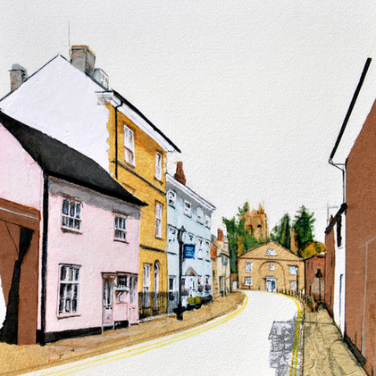 Sparhawk Street, Bury St Edmunds