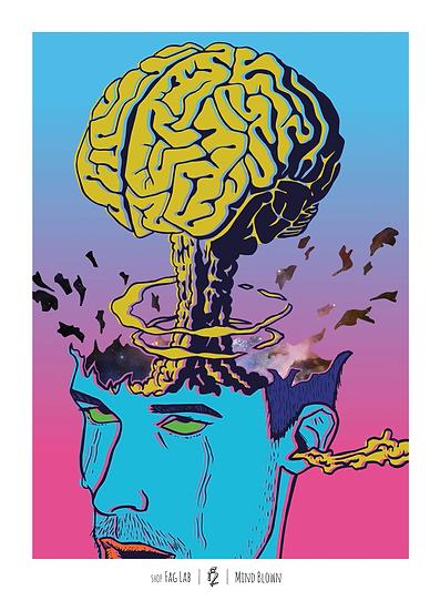 Wholesale - (Set of 3 prints) Mind Blown