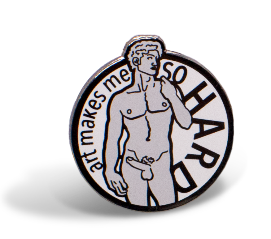 """So Hard"" hard enamel pin"