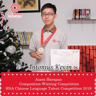 Antonius Kevin-Upper Secondary 1