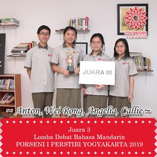 Anton, Wei Rong, Angelia, Callie