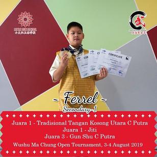 Ferrel - Lower Secondary 1