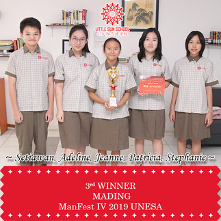 Setiawan, Adeline, Jeanne, Patricia, Stephanie (Upper Secondary)