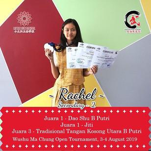 Rachel - Lower Secondary 2