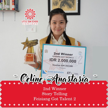 Celine Anastasia-Lower Secondary 2
