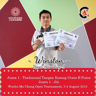 Winston Wiratama - Upper Secondary 1