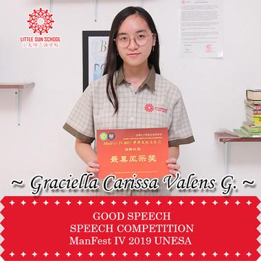 Graciella Carissa Valens G.-Upper Secondary 1