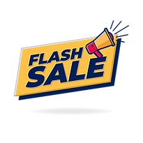 —Pngtree—flash sale banner with loudspea