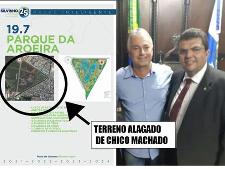 Plano de governo de Silvinho prevê a desapropriação de mais uma terra de Chico Machado