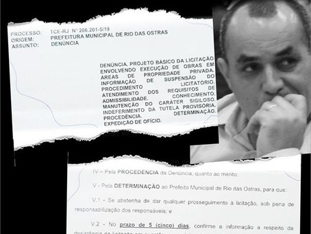 Rio das Ostras: Marcelino é condenado por licitação ilegal de R$ 8 milhões
