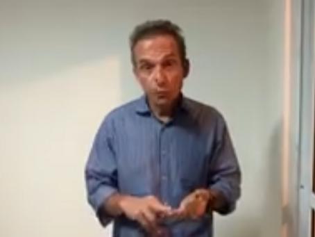 """Em vídeo, Dr. Aluizio ratifica apoio a Welberth: """"é o melhor para Macaé"""""""
