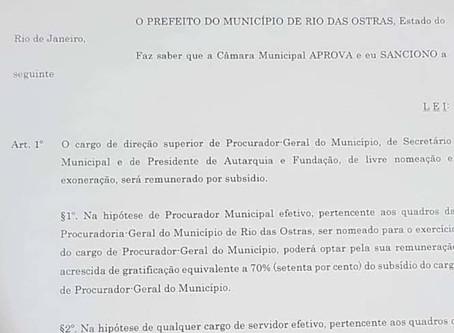 Crise? Salário de secretário pode chegar a R$ 20 mil em Rio das Ostras