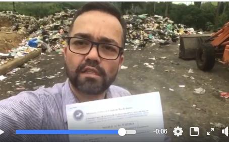 [vídeo] Dr. Adriano denuncia crime ambiental em Casimiro de Abreu