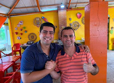 Carapebus: Rodrigo Mancebo, Bernard e Juninho fecham aliança contra governo