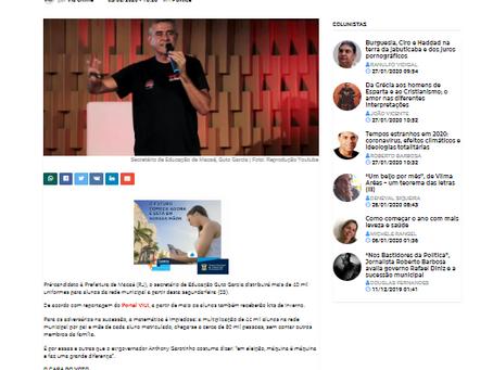 Site admite que Guto cometerá crime eleitoral e pode levar prefeito à cassação