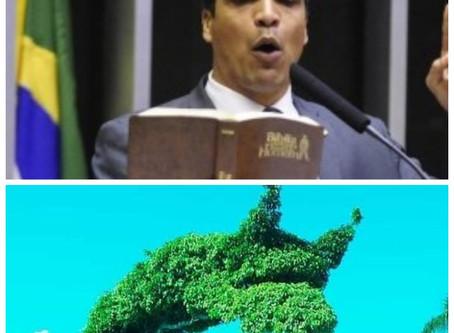 Cabo Daciolo virá a Macaé exorcizar árvore maligna plantada por Dr. Aluízio