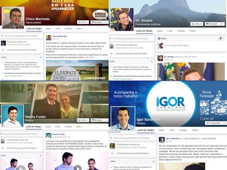 Pré-candidatos apostam no Facebook para conquistar eleitores