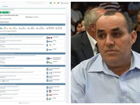 Marcelino coloca Rio das Ostras no SPC do Governo Federal