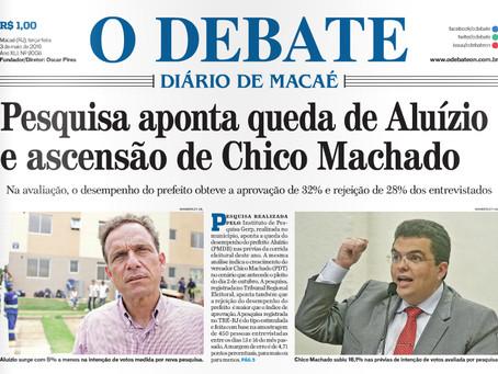 """Jornal tenta fortalecer Chico, """"enfraquecendo"""" candidaturas de Danilo, Igor e Longobardi"""