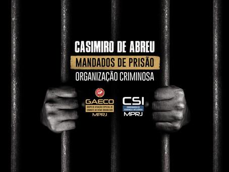 MP prende integrantes de quadrilha que agia dentro da prefeitura de Casimiro