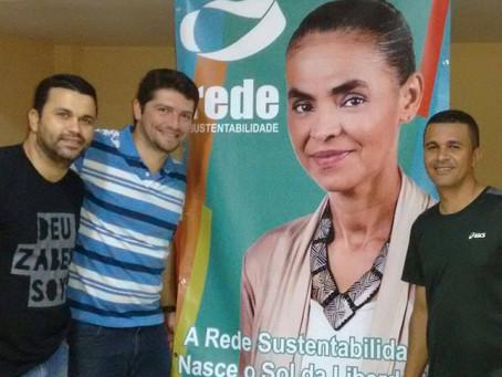 Fotografia de Marina Silva garante apoio a Danilo Funke