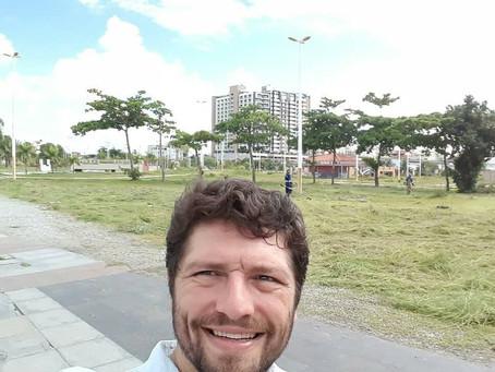 Danilo Funke lidera pesquisas para síndico do Parque da Cidade