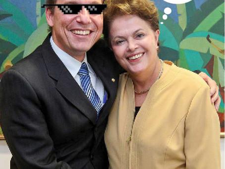 """O dia em que Dr. Aluízio """"passou a perna"""", na Dilma em favor dos desabrigados"""