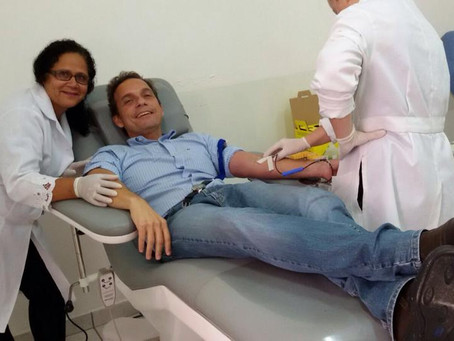 "Dr. Aluízio: ""Estou dando o meu sangue pela cidade"""