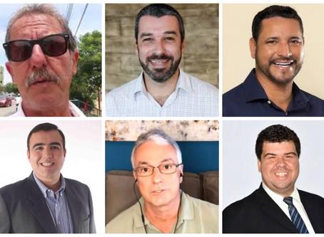 Seis homens e um destino. Confira série sobre pré-candidatos de Macaé